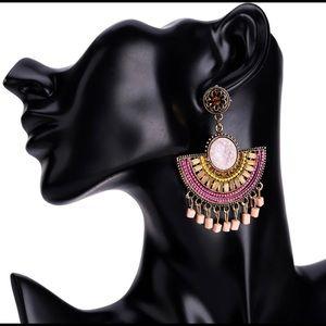 Elegant Bohemian Tassel Earrings
